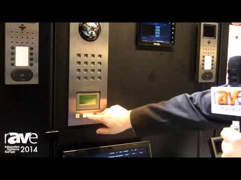 ISE 2014: Siedle Presents Home Door Intercom Station Components