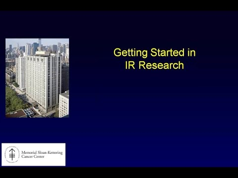 SIR RFS Webinar (8/31/2015): How to Get Started on an IR Research Project #1 thumbnail