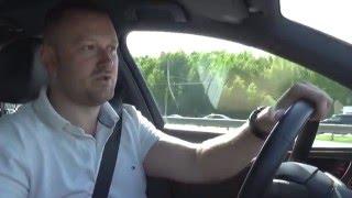 Audi A6 3.0 tdi quattro, 0-100, тест драйв.