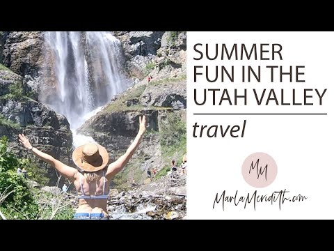 Summer Fun in the Utah Valley