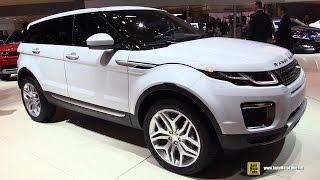2016 Land Rover Evoque HSE Si4 - Exterior and Interior Walkaround - 2015 Geneva Motor Show