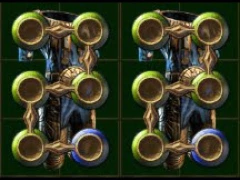 How To Craft: 5 Green Socket Vaal Regalia For HoA Build   Works for any other items too