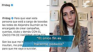 """De acuerdo a la modelo, los ataques que recibe en redes sociales son orquestados por una """"persona que está a cargo de todas las redes de Alejandra Guzmán"""""""