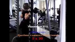 Комплекс упражнений для женщин в тренажерном зале при похудении
