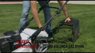 Alpina AL5 51VHQ Benzinli Çim Biçme Makinası