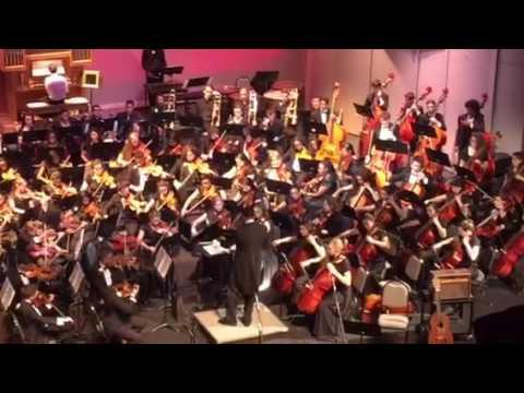Howard W Blake High School 2016 Orchestra Concert Phantom of the Opera