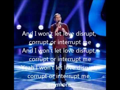 James Wolpert-Love Interruption-The Voice 5 Blind Auditions