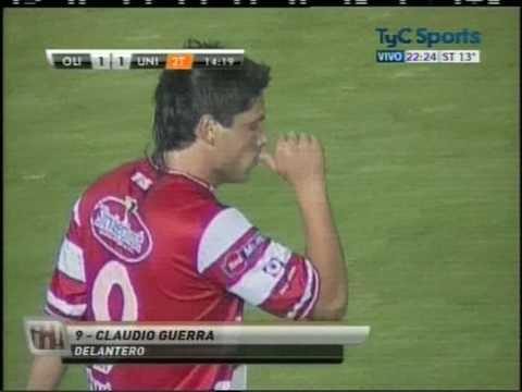 El gol de Claudio Guerra no alcanzó