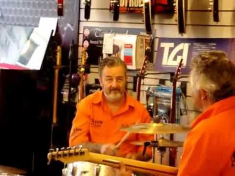 Jazz festival '2013 in Henderson Music shop Derry/Londonderry