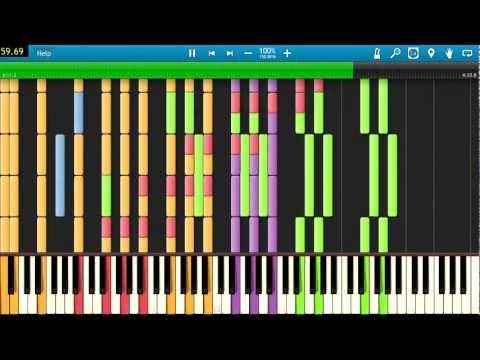[Black MIDI] Synthesia - Vocaloid: Po-Pi-Po (Vegetable Juice) black