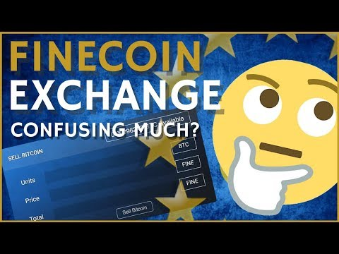 FINECOIN EXCHANGE HOW TO BUY AND SELL... MAYBE