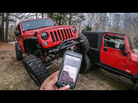 Jeep Wrangler Programmer Phone App - Every JK Owner Needs This