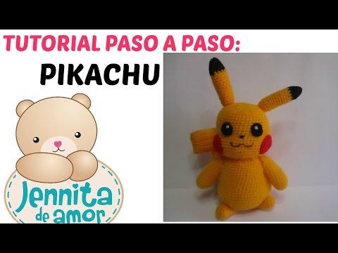 PIKACHU CROCHET PATTERN - Detective Pikachu Amigurumi Pdf pattern ... | 360x480