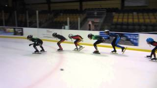 Short Track Speedskating - New Jersey USA - with Sun Linlin