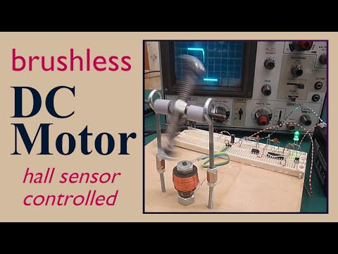 Brushless DC electric Motor ( Hall sensor controlled )