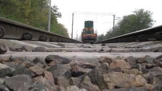 Положил камеру под ЧМЭ3т. На взлет. (Машинист психанул). Ukraine railway.