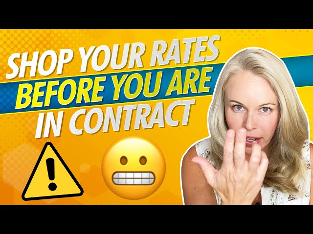 Why You Need To Shop Your Mortgage Rate Before You Are In Contract With Another Mortgage Lender 😲