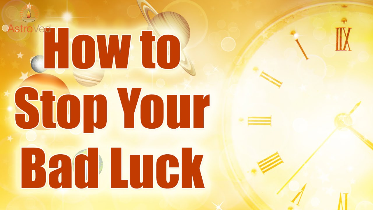 How To Get Rid Of Bad Luck In House