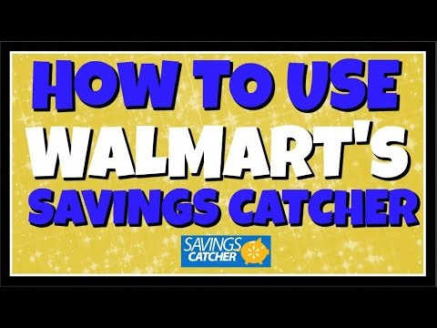 How To Use Walmart's Saving Catcher App