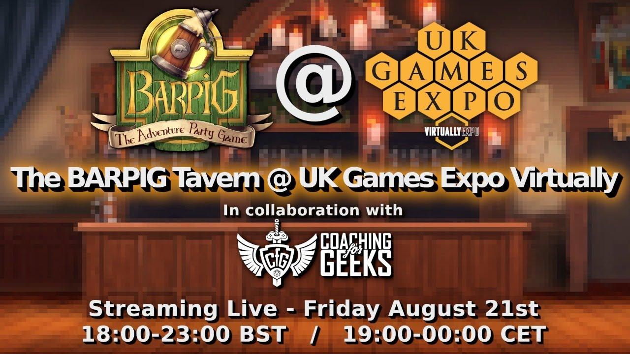 UK GAME EXPO - ✅ CHECK!