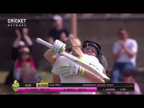 Perry powers her way to double ton