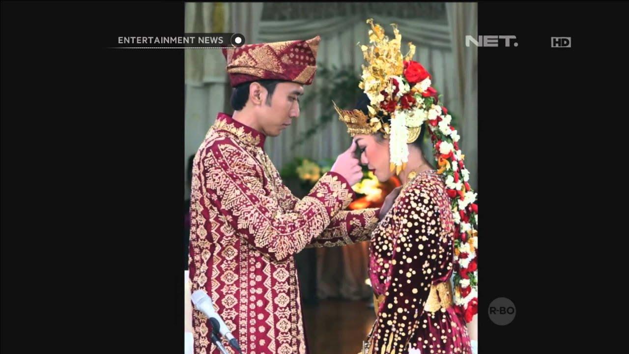Artis Indonesia yang mengenakan gaun pengantin termahal