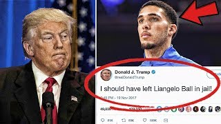 Why Donald Trump Said He Should Have Left Liangelo Ball In Jail | Did Lavar Go To Far?