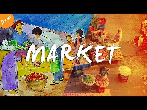 MARKET | Memory Drawing | Poster Colour Demo #7 - Art Forge