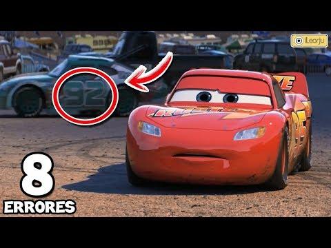 8 Errores Increíbles de la Película Cars 3