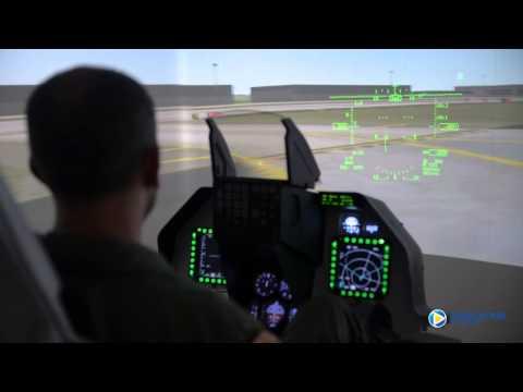 Simulation of Reality F16 a B737NG video