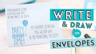 How To Easily Addŗess Envelopes On Cricut Joy Card Mat