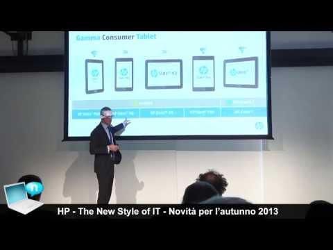 HP: notebook, tablet, AIO e stampanti. Le novità per l'autunno 2013