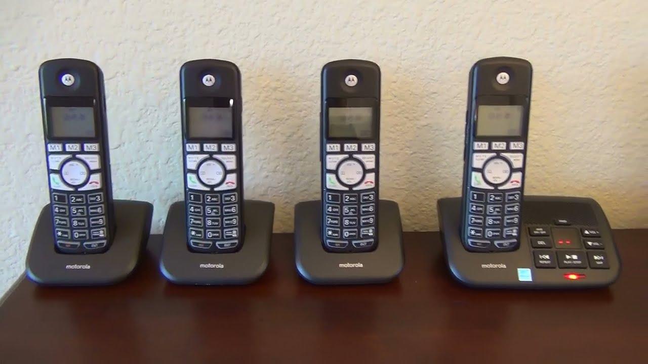 Motorola K70 DECT 60 Cordless Phone K704B K703B K702B K701B Review
