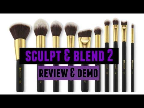 BH Cosmetics Sculpt & Blend 2 Brush Set || REVIEW & DEMO