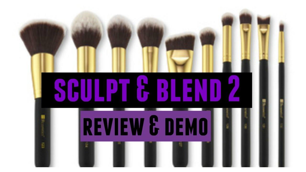 ace6010367b4 BH Cosmetics Sculpt   Blend 2 Brush Set