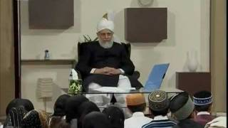 Bustan-e-Waqfe Nau, 2 May 2009, Educational class with Hadhrat Mirza Masroor Ahmad(aba)
