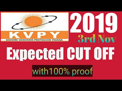 Download KVPY 2019-expected CUT OFF.