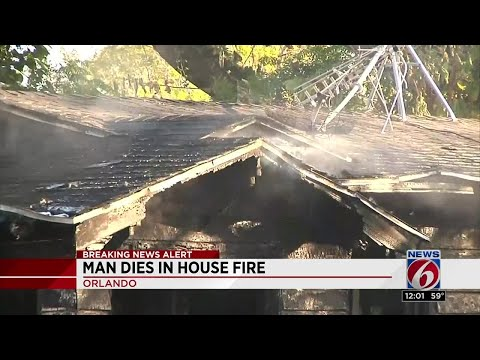 Man dies in Orlando fire caused by space heater