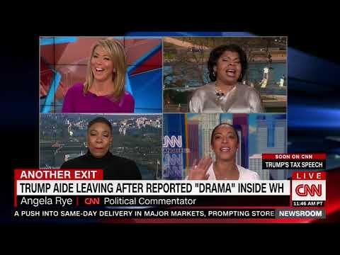 CNN Commentator Gloats Over Omarosa Leaving the WH