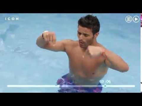 Como perder peso en la piscina