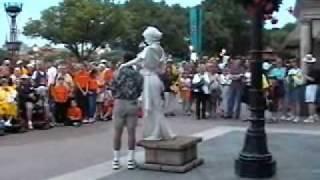 Disney World Living Statue in Epcot's World Showcase - Italy