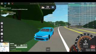 Golf GTI und Police Van Test Drive - UD: Westover Islands #6 - Roblox