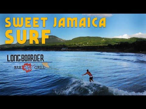 Sweet Jamaica Surf At Longboarder Surf Hostel!
