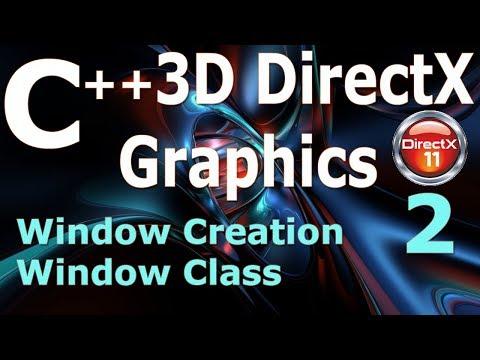 C++ 3D DirectX Tutorial [Window Creation] 2