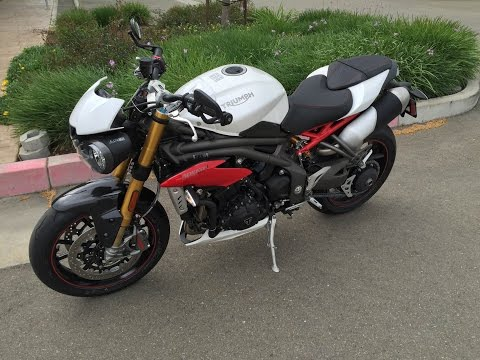 2016 Triumph Speed Triple R * The Answer * Ride & review