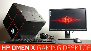 HP Omen X 4k Gaming Desktop