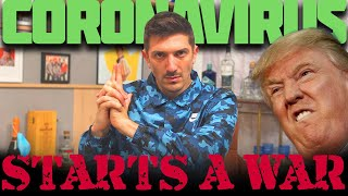 Andrew Schulz on Coronavirus: Covid 19 Makes Trump Go To War