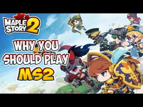 Why You SHOULD Play MapleStory 2 NOW | MapleStory 2 English Global Server (Free to Play MMORPG)