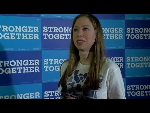 One-on-one interview with Chelsea Clinton