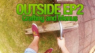 Let's Play: Outside - Episode 2 - Basic crafting and in-game menus